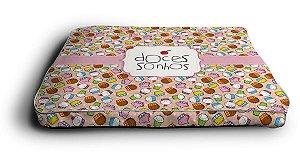 Futon - Cupcake Rosa