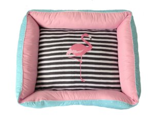Cama Ziper Total - Flamingos