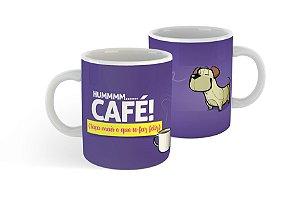 Caneca Porcelana - Humm Café