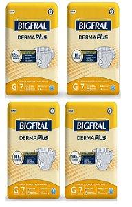 Fralda Geriatrica BigFral DERMA Plus G-28 unidades