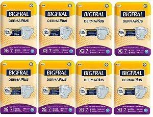 Fralda Geriatrica BigFral DERMA Plus XG-56 unidades