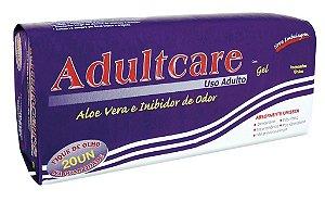 Absorvente Adulto Adultcare Plus Unissex- 20 unidades