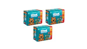 Fraldas Descartáveis Infantil Scooby-Doo-M-210 unidades