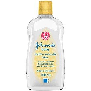 JOHNSON'S® Baby Óleo Recém-Nascido - 100ml