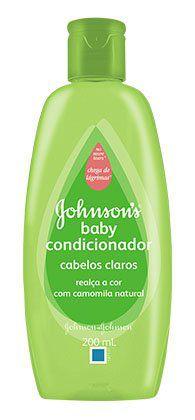 Condicionador JOHNSON'S® Baby Cabelos Claros - 200ml