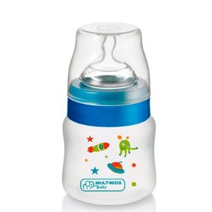 Mamadeira Boys And Girls Pp Azul Ortonatural 125Ml BB103