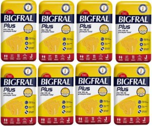 Fralda Geriatrica BigFral Plus Juvenil -88 unidades
