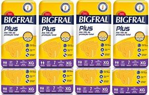 Fralda Geriatrica BigFral Plus XG-56 unidades