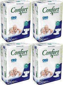 Fralda Geriatrica Confort Master G 120 unidades