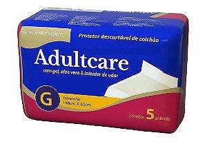 Protetor de Cama Adultcare - Tamanho G - 5 unidades