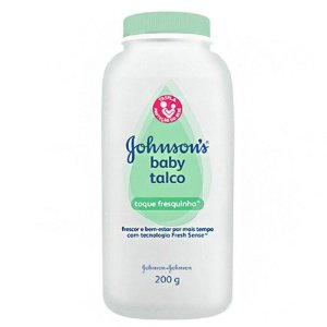 Talco JOHNSON'S® Baby Toque Fresquinho - 200g