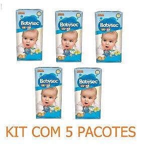 Fralda Infantil BabySec Ultra Kit  Tam M 140 unidades