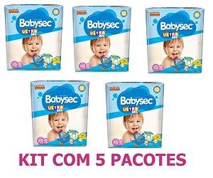 Fralda Infantil BabySec Ultra Kit Tam XG 100 unidades