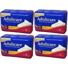 Protetor De Cama Adultcare - Tamanho G - 20 Unidades