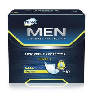 Absorvente Masculino Tena Men Level 2  C/10 Unidades