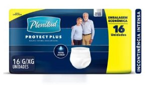 FRALDA GERIATRICA PLENITUD PROTEC PLUS PANTS G/XG 16 UNIDADES