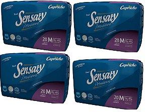 Fralda geriatrica Sensaty Premium Tam M 80 unidades