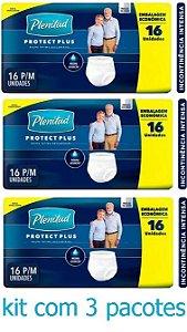 Fralda Geriatrica Plenitud Protect Plus P/M 48 unidades