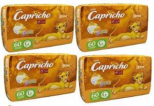 Fralda Infantil Capricho Rei Leão G 240 unid