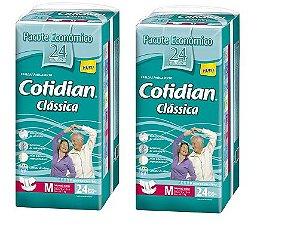Fralda Geriatrica Cotidian Classica M  48unidades