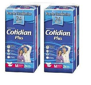 Fralda Geriatrica Cotidian Plus M 48Unidades
