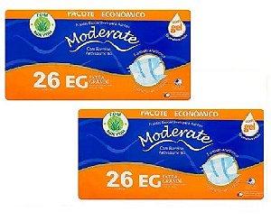 Fralda Geriatrica Moderate EG 52Unidades