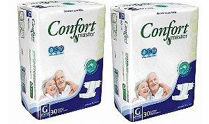 Fralda Geriatrica Confort Master G 60 unidades