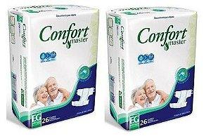 Fralda Geriatrica Confort Master EG 52 unidades