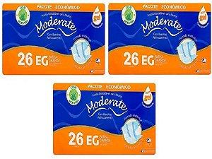 Fralda Geriatrica Moderate EG MEGA com 78 unidades