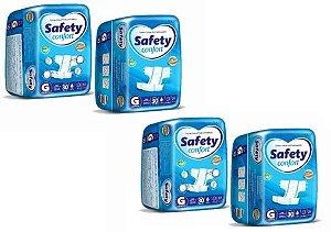 Fralda Geriatrica Safety Confort G 120 unidades