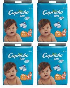 Fraldas Descartáveis-Capricho Baby- G 288 unidades
