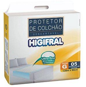Protetor de Colchão Descartavel Higifral G-5 unidades