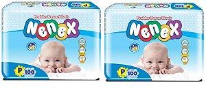 Fraldas Descartáveis-Infantil Nenex DIA/NOITE-P 200 unidades