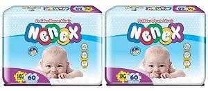Fraldas Descartáveis-Infantil Nenex DIA/NOITE SXG 120 Unid