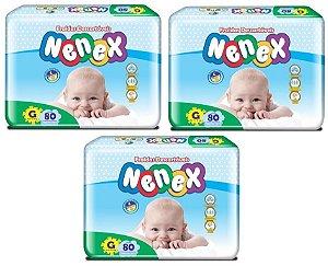 Fralda Infantil Nenex -G- 240 unidades