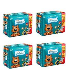 Fraldas Descartáveis Infantil Scooby-doo-M-280 Unidades