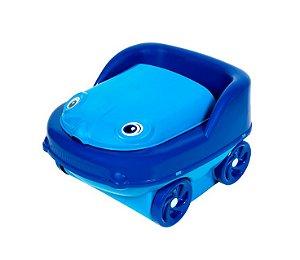 Troninho Musical Com Redutor Pit Stop Styll Baby - Azul