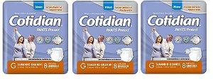 Roupa íntima Descartável Cotidian Pants Protect G 24 unidades