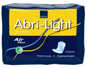 ABENA ABRI+LIGHT  EXTRA ABSORVENTE FEMENINO C/10