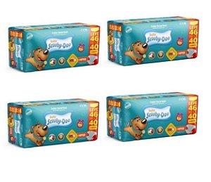 Fraldas Descartáveis Infantil Scooby-Doo XXG 184 unidades