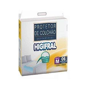 Protetor de Colchão Descartável Higifral M-6 unidades