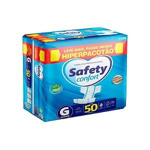 Fralda Geriatrica Safety Confort G-50 unidades