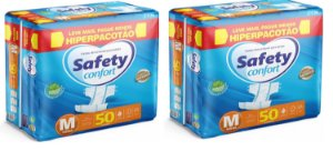 Fralda Geriatrica Safety Confort M-100 unidades
