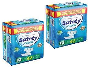 Fralda Geriatrica Safety Confort EG -84 unidades
