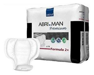 ABENA ABRI+MAN FORMULA 2 ABSORVENTE MASCOLINO C/14
