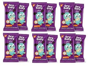 Toalhas Umedecidas Dry Baby Plus - 12 pacotes-600 unidades