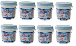Lenços Umedecidos Use It Baby- 8 baldes Azul- 3200 Unidades