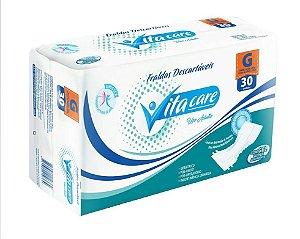 Fralda Geriatrica Vita Care Uso Adulto- G 30 unidades