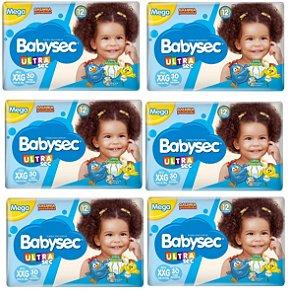 Fralda Babysec Galinha Pintadinha Ultrasec XXG -180 unidades