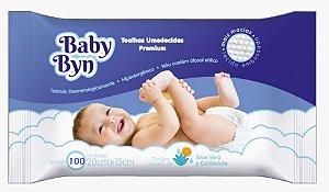 Toalhas Umedecidas Baby Byn-100 Unidades